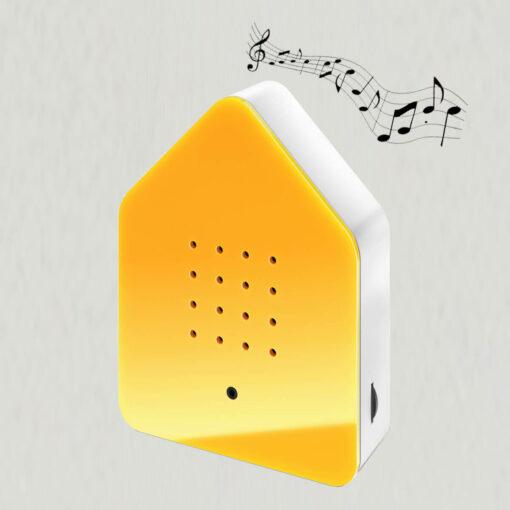 Zwitscherbox gul