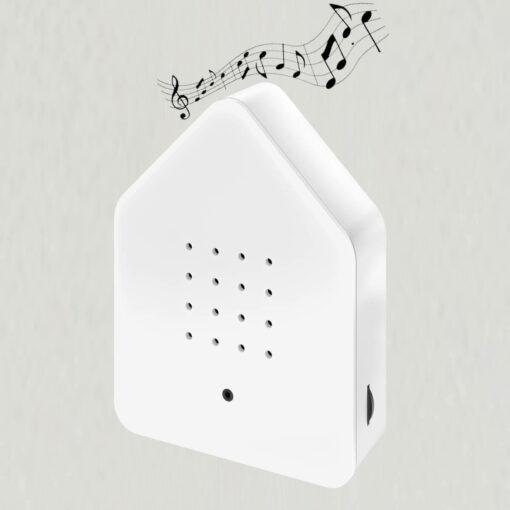 Zwitscherbox hvid