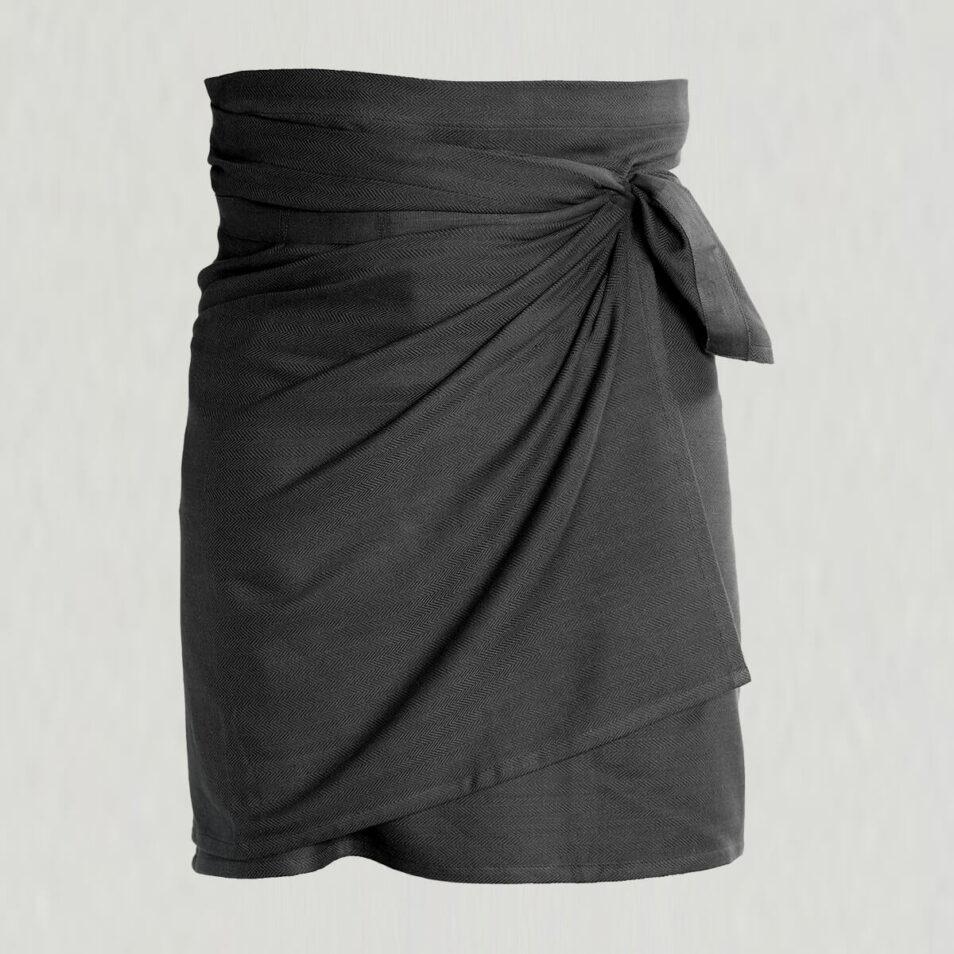 sort forklæde