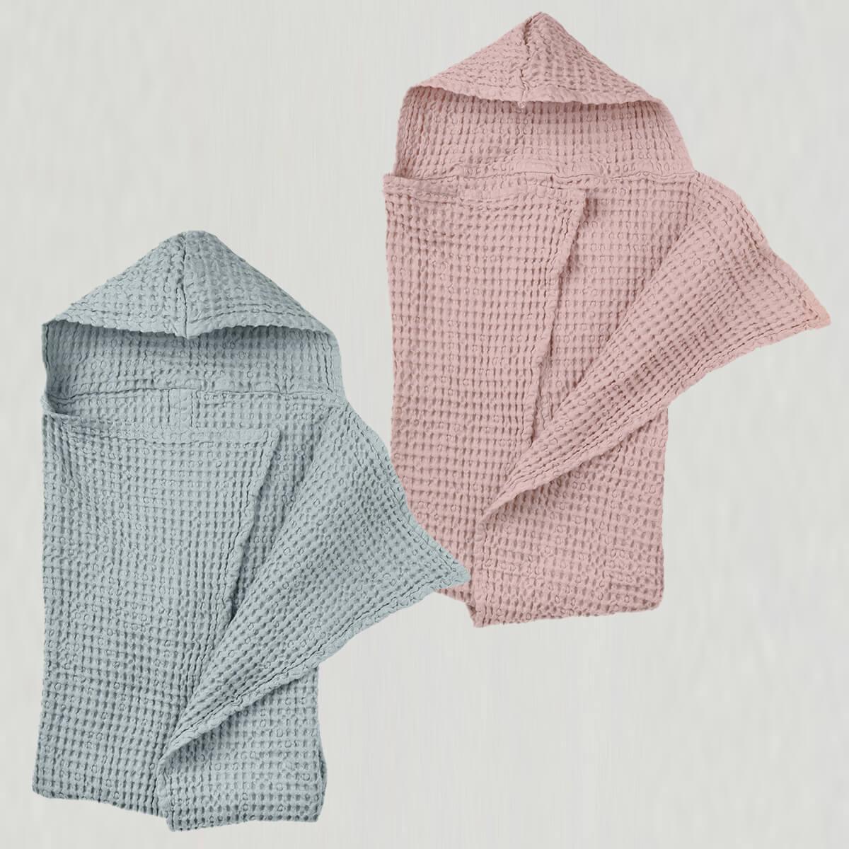 baby badehåndklæde i flere farver