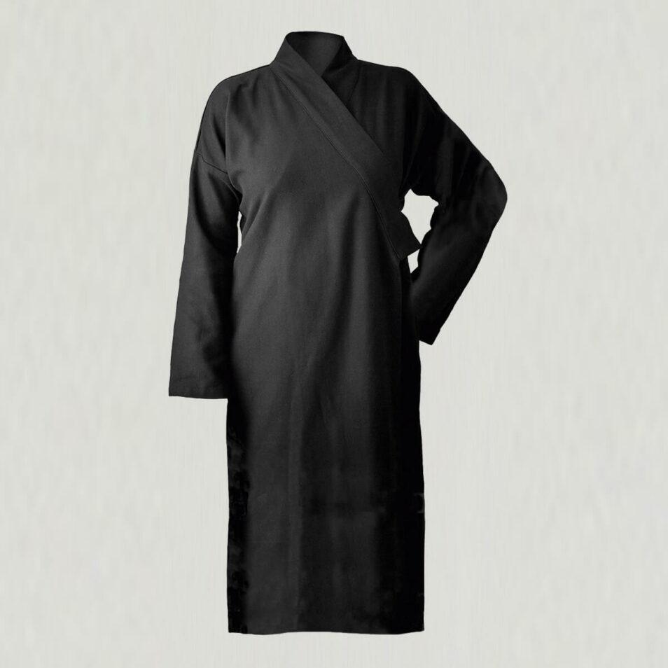sort badekåbe