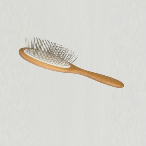 Hårbørste med stål pinde 23 cm