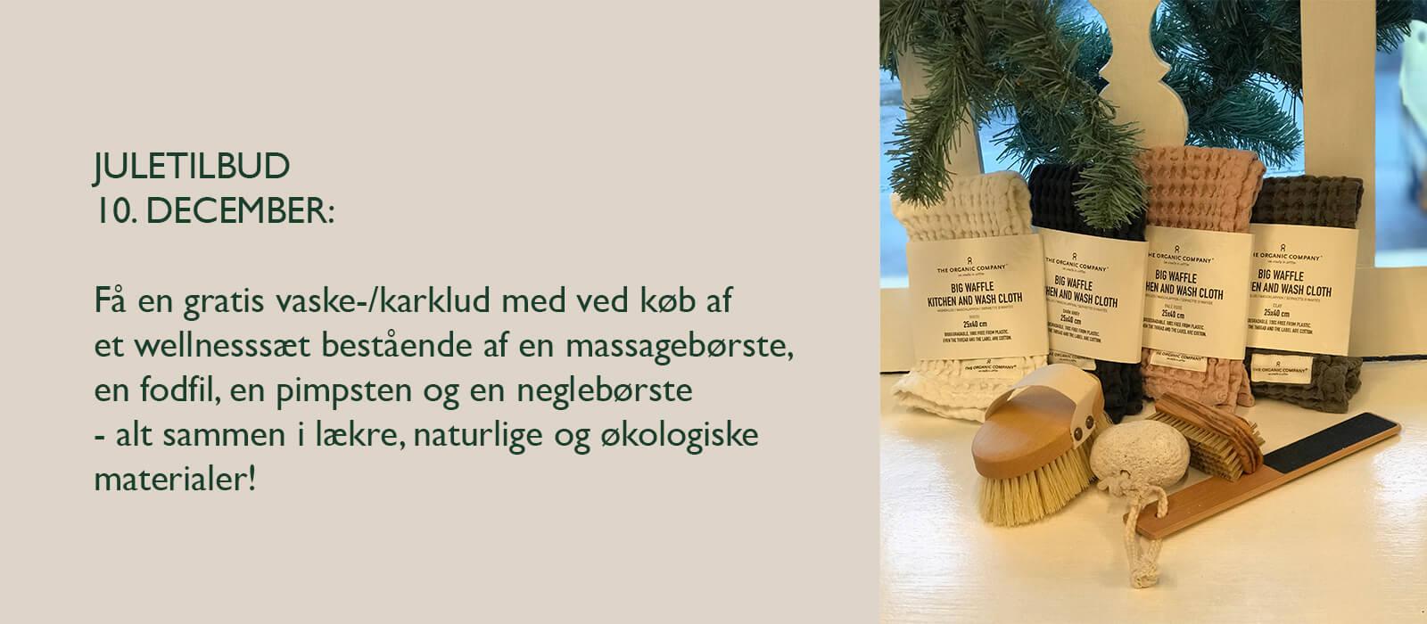 Juletilbud hos interiør-butikken Susanne Schmidt