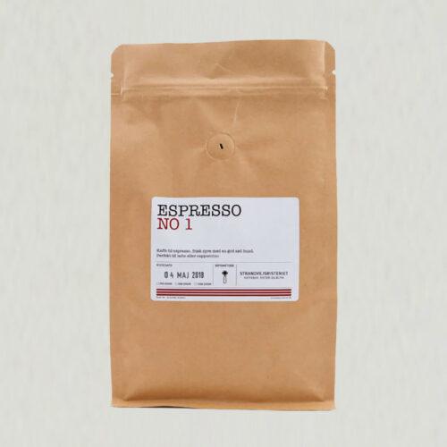 Espresso No. 1 - Strandvejsristeriet