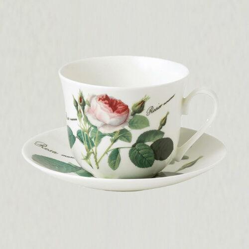 Morgenkop med underkop 0,45 l., Roy Kirkham - Redoute Roses