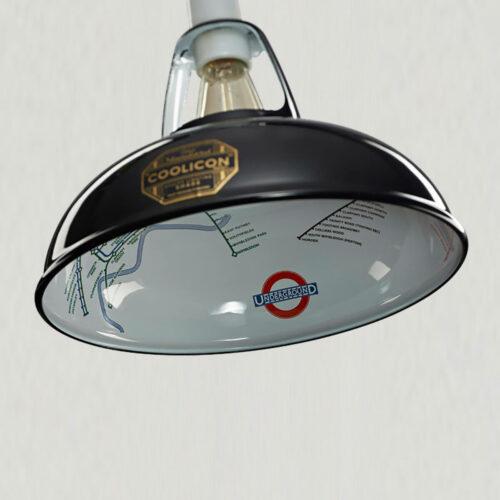 Coolicon® Lampe stor Underground - Flere farver