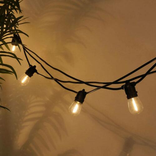 belysning til havefest
