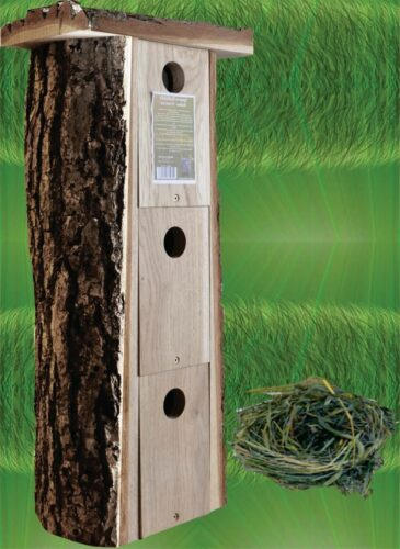 Spurvekasser med naturtag - Højhus