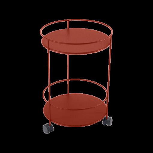 Fermob Guinguette rullebord - Red Ochre