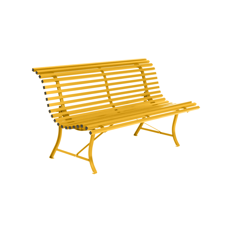 Fermob Louisiane bænk 150 cm - Honey