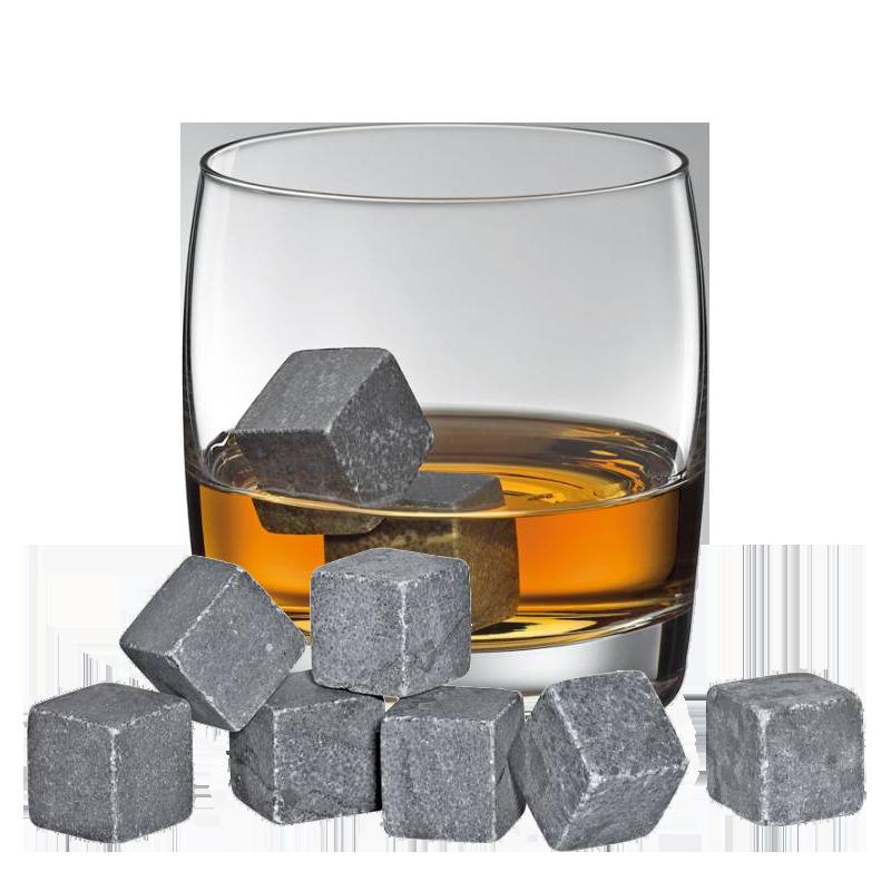 Whiskysten Cool Rocks, 9 stk. - Cilio