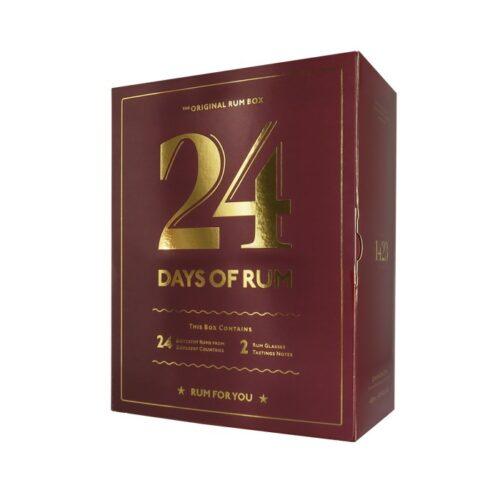24 days of rum 2021, Rom Julekalender,