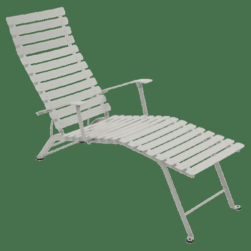 Fermob Bistro Chaise Longue Clay Grey