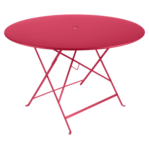 Fermob Bistro klapbord Ø117 cm - Pink Praline