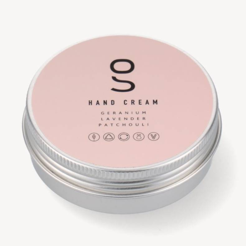 Håndcreme i dåse 60 ml., Geranium - Simple Goods