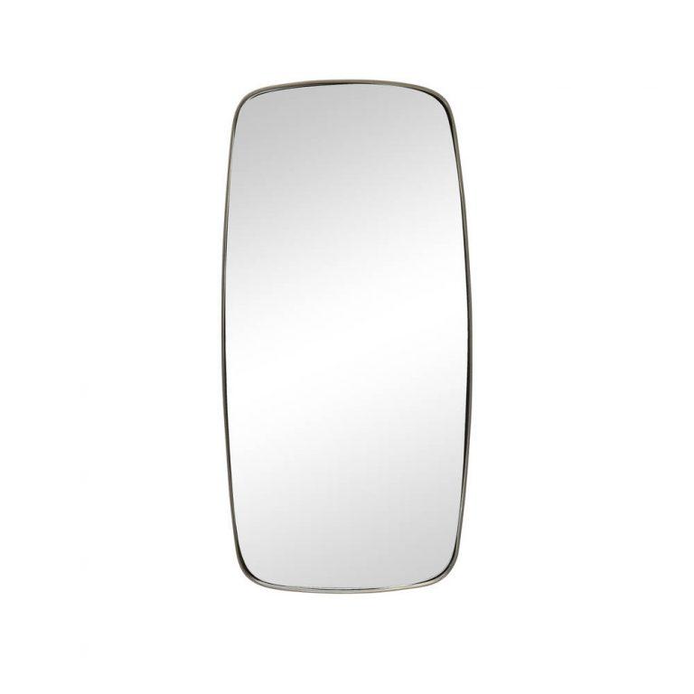 Hübsch Vægspejl firkant med metalramme