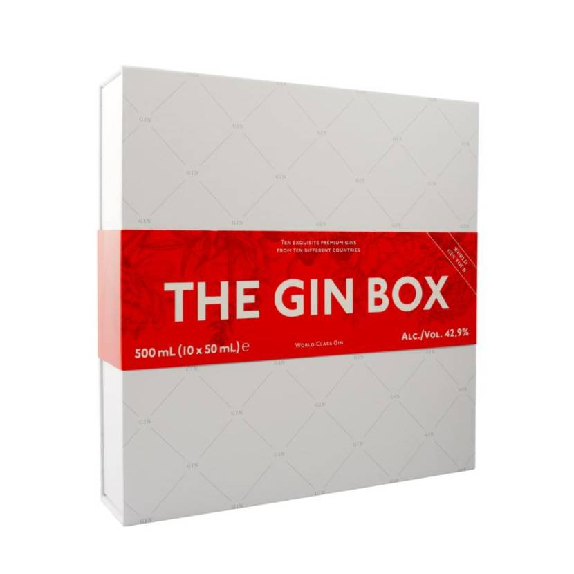 The Gin Box, World Tour Edition 2020, 10x5 cl.