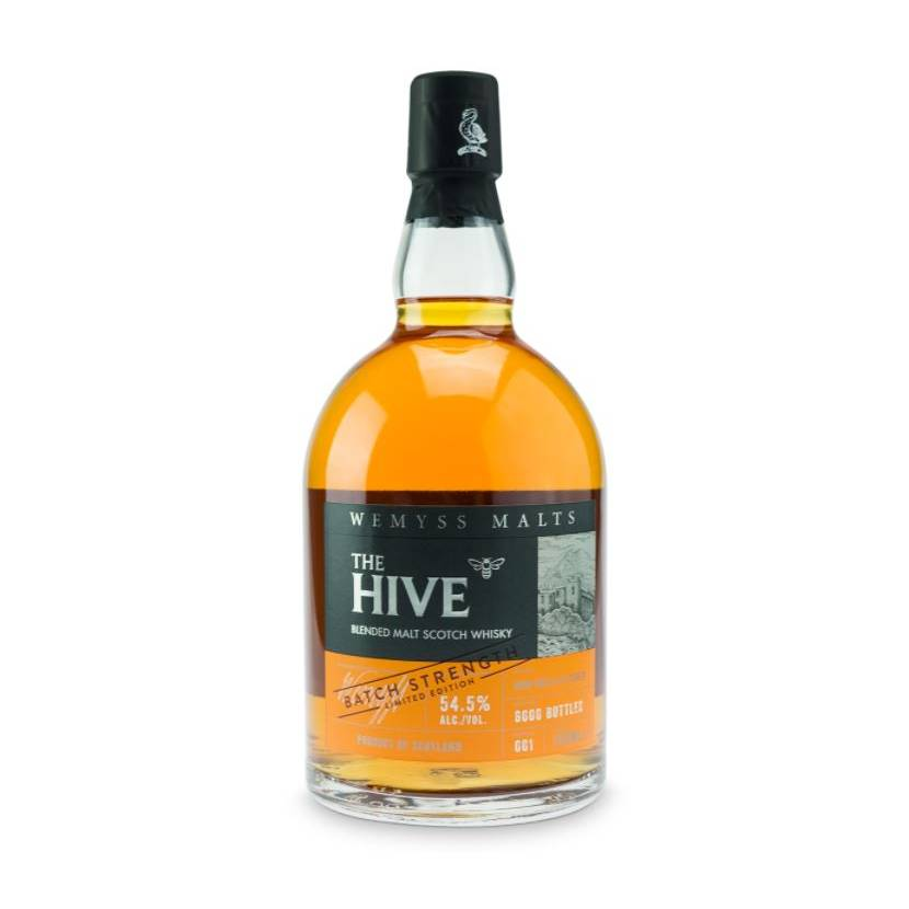 Wemyss Malts The Hive, Skotsk Whisky, Batch Strength 70 cl.