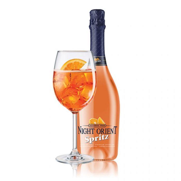 Night Orient Spritz alkoholfri aperol