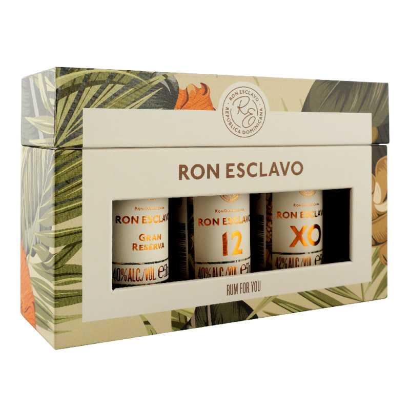 Ron Esclavo Gaveæske 3x5 cl.