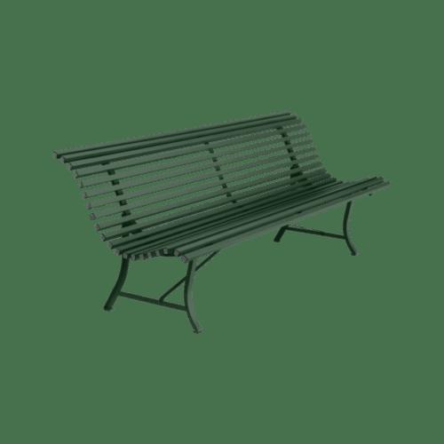 Fermob Louisiane bænk 200 cm - Cedar Green