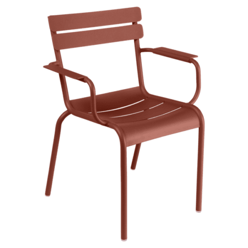 Fermob Luxembourg armstol Red Ochre
