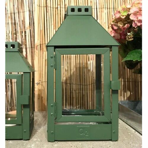 Olivengrøn lanterne Mini - A2 lanterne