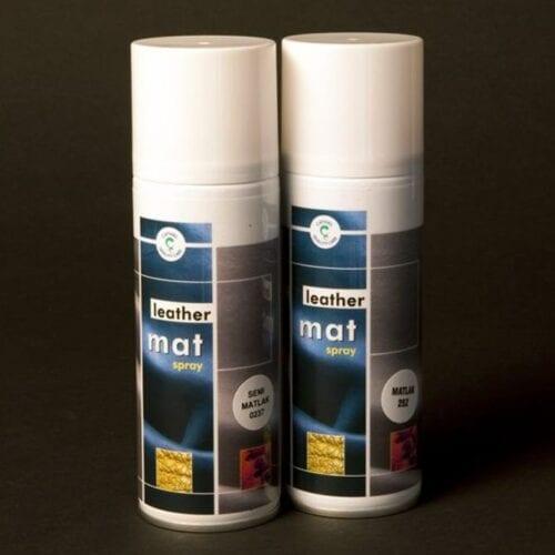Leather semimat spray 200 ml. - Cathiel