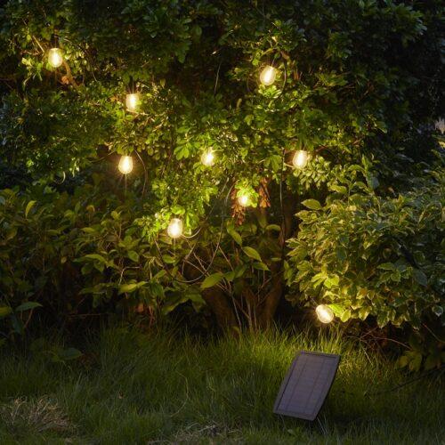 LED Lyskæde med solpanel, Thomsons Design