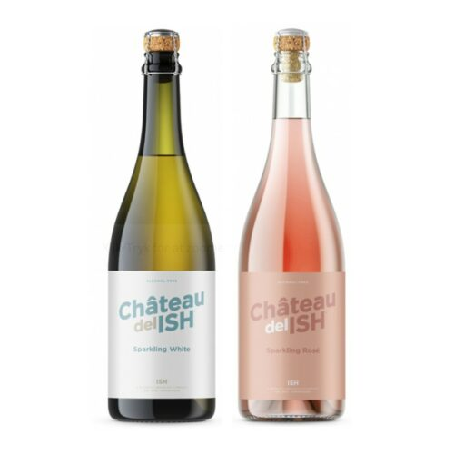 Chateau del ISH 750 ml., Sparkling Rosé & White.
