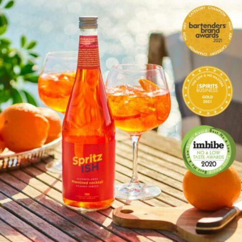 Spritz ISH 750 ml., Alkoholfri cocktail.
