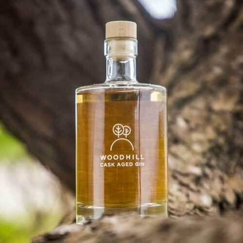 Woodhill Cask Aged Gin 50 cl. - Botanisk Gin