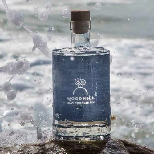 Woodhill Navy Strenght Gin 50 cl. - Botanisk gin