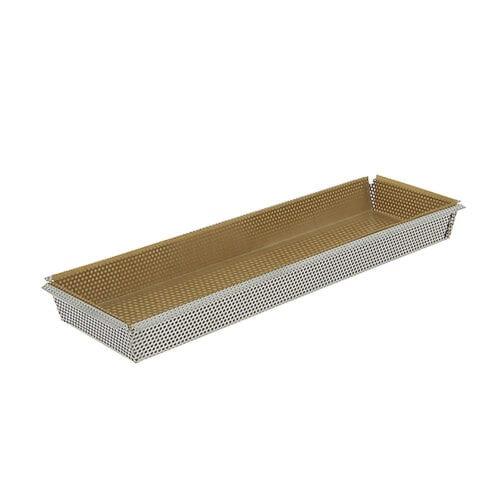 de Buyer Tærteform i rustfrit stål 35cm, Rektangulær