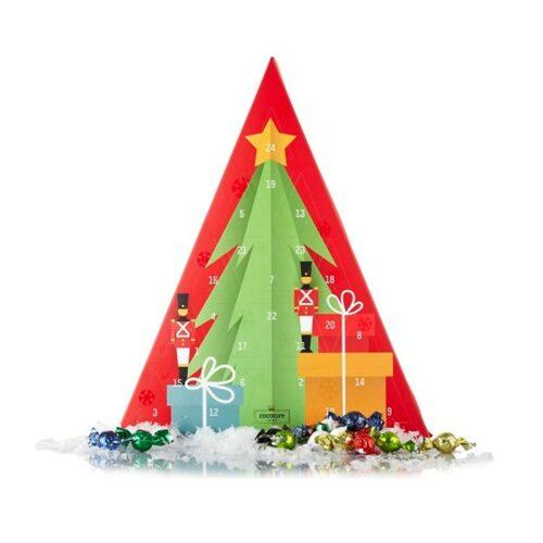 Julekalender med mixet chokoladekugler - Cocoture & Co.