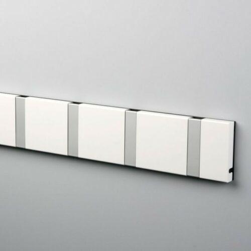 Knax knagerække hvid-grå - 5 størrelser